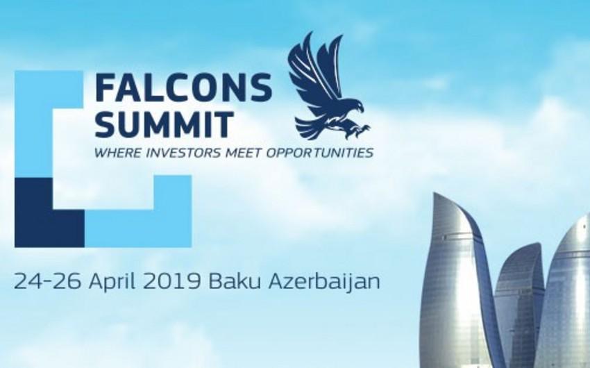 Bakıda Falcons Summit Baku 2019 konfransı keçirilir