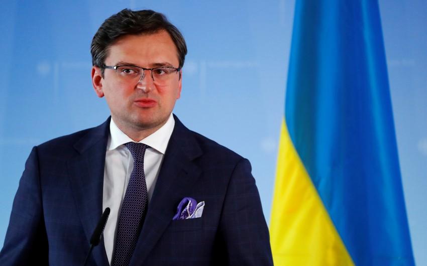XİN başçısı: Ukrayna Azərbaycanın ərazi bütövlüyünü dəstəkləyir
