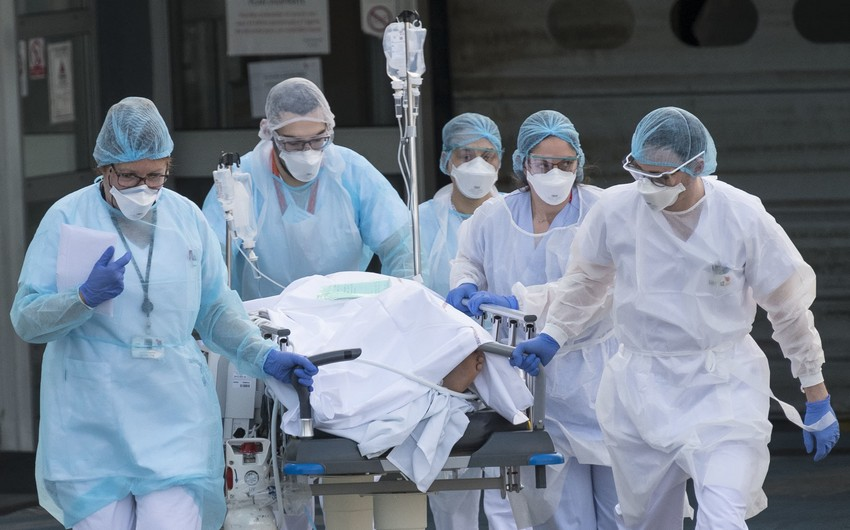 Fransada koronavirus qurbanlarının sayı 29,5 mini ötdü