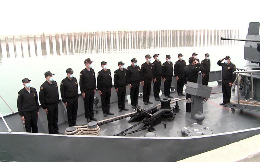 В связи с началом нового учебного года в ВМС Азербайджана проводятся мероприятия