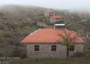Xocavəndin işğaldan azad olunan Daşbaşı kəndi