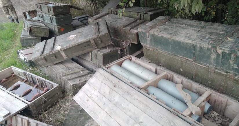 В Ходжавенде обнаружены боеприпасы