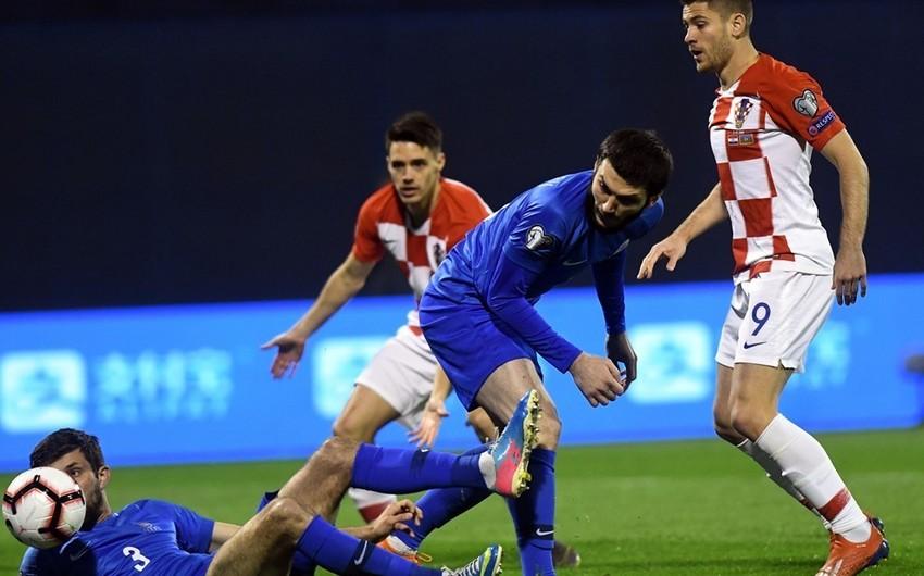Croatia beats Azerbaijan in Euro-2020 qualifier match - VIDEO
