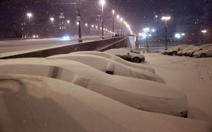 Moskvada dünən bu əsrin ən soyuq gecəsi olub