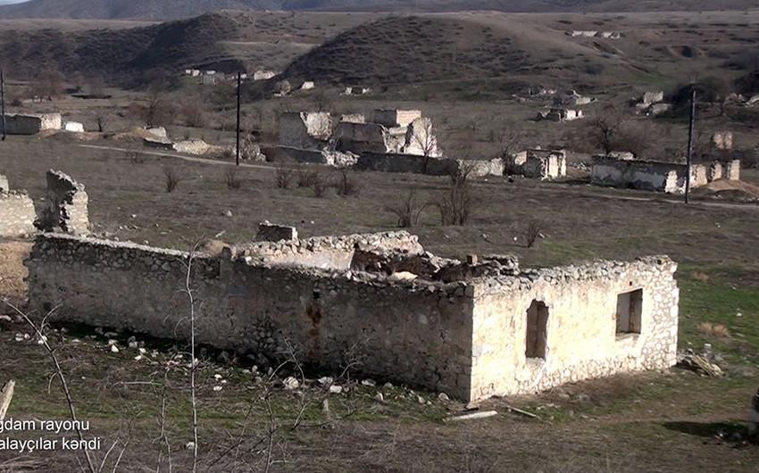 Ağdamın Qalayçılar kəndindən görüntülər