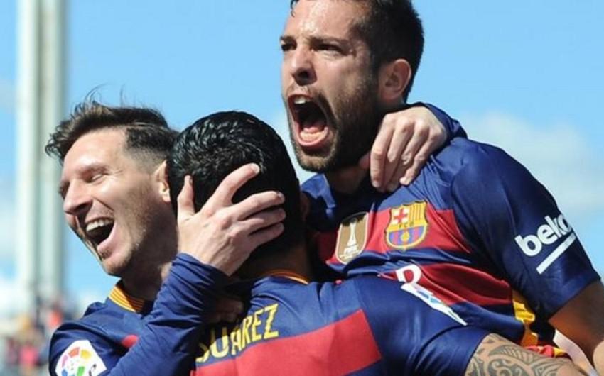 Barselona klubu tarixində 24-cü dəfə İspaniya çempionu olub - VİDEO