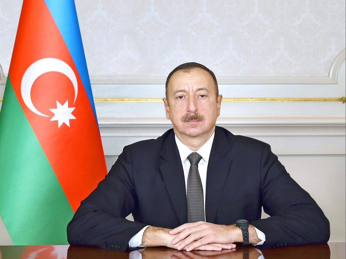 Президент Ильхам Алиев поздравил новоизбранного президента Эфиопии