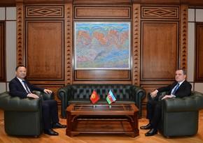 Завершилась встреча глав МИД Азербайджана и Кыргызстана - ОБНОВЛЕНО