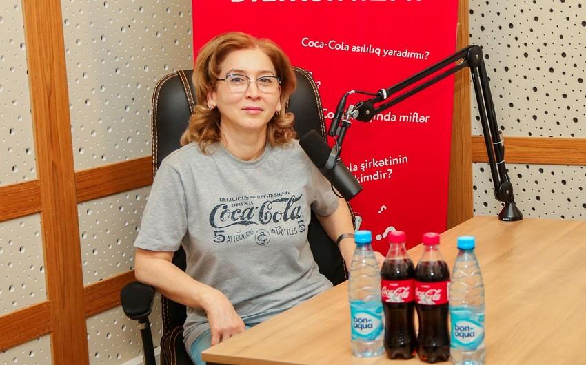 Азербайджанка назначена гендиректором Coca-Cola