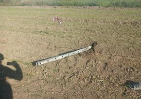 МО:Выпущенная из Армении в направлении Мингячевира ракета сбита в небе