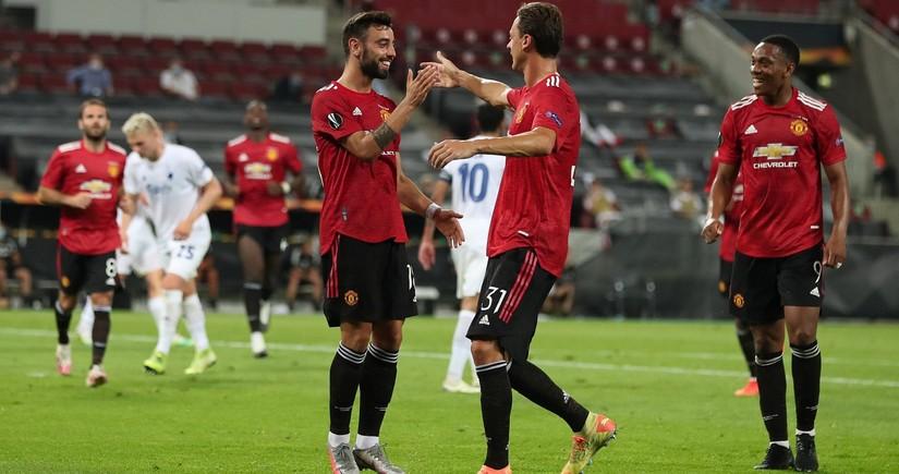 Манчестер Юнайтед вышел в полуфинал Лиги Европы
