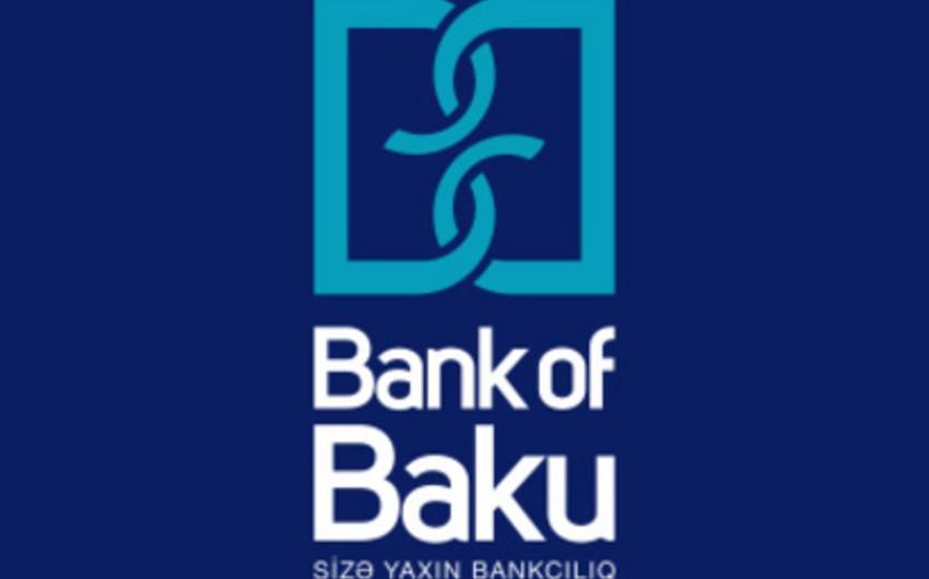 Bank of Bakunun xalis mənfəəti 7% artıb