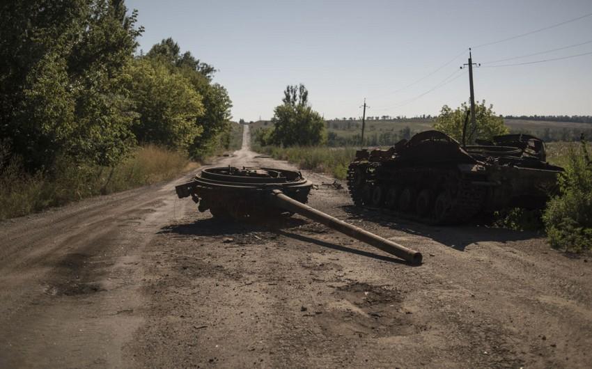 Enemy's volunteer groups, military equipment destroyed