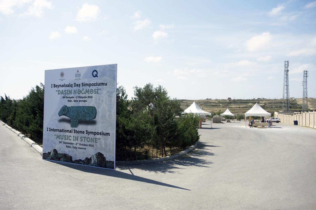 Heydar Aliyev Foundation organizes Music in Stone 1st International sculpture symposium
