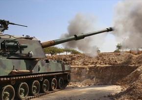 Türkiyə ordusu Suriyada terrorçulara cavab zərbəsi endirib