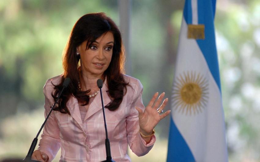Argentinanın eks-prezidentinə qarşı cinayət işi açıla bilər