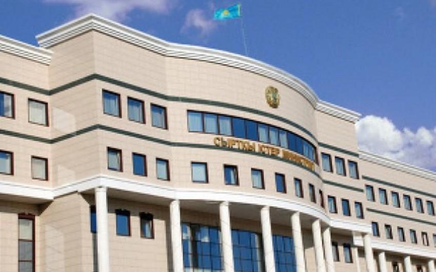 Qazaxıstan XİN: İnsan itkiləri barədə xəbərlərdən ciddi narahatlıq bildiririk