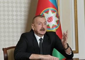 Ильхам Алиев: Работа Трампа по урегулированию конфликта, полностью соответствует международным отношениям