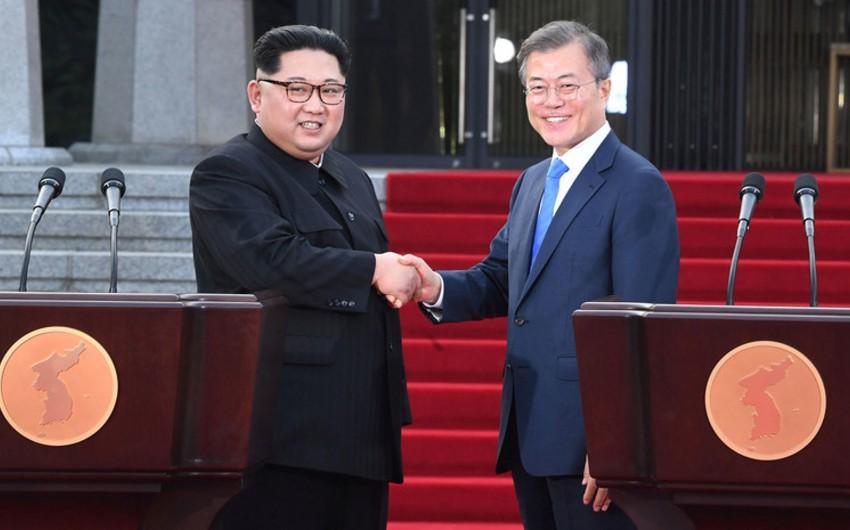 Cənubi Koreya prezidenti ilə KXDR lideri arasında telefon danışığı olacaq