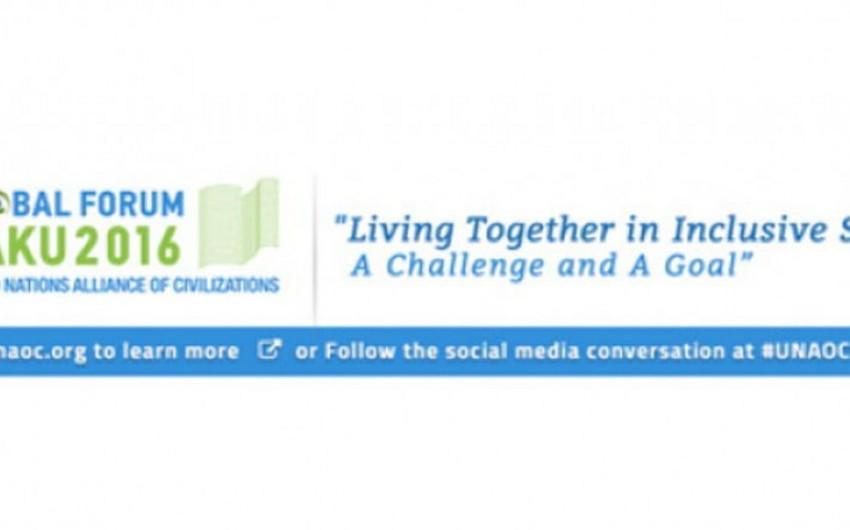 BMT Sivilizasiyalar Alyansının 7-ci Qlobal Forumunun proqramı təsdiqlənib