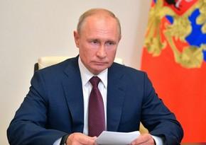 """Putin: """"Rusiya Belarusdakı seçkinin nəticələrini tanıyır"""""""
