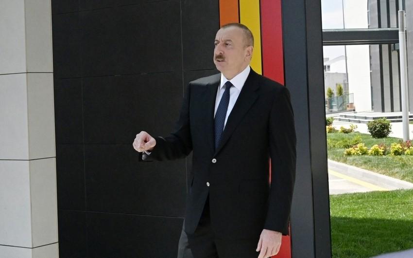 İlham Əliyev: Azərbaycan həmişə üzüağ, alnıaçıq olub və pandemiya bunu bir daha təsdiqləyib - MÜSAHİBƏ