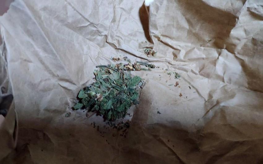 Gürcüstan vətəndaşlarından narkotik vasitələr götürülüb