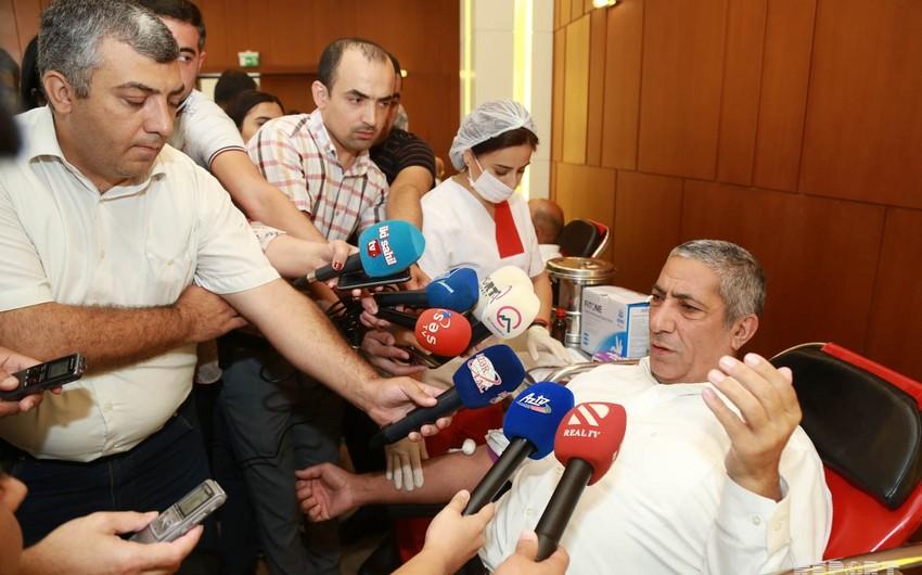 Siyavuş Novruzov müxalifəti qanvermə aksiyasında iştiraka dəvət edib