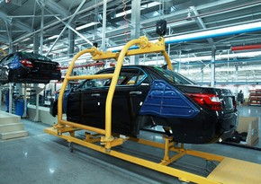 В январе Азербайджан сократил производство автомобилей на 50%