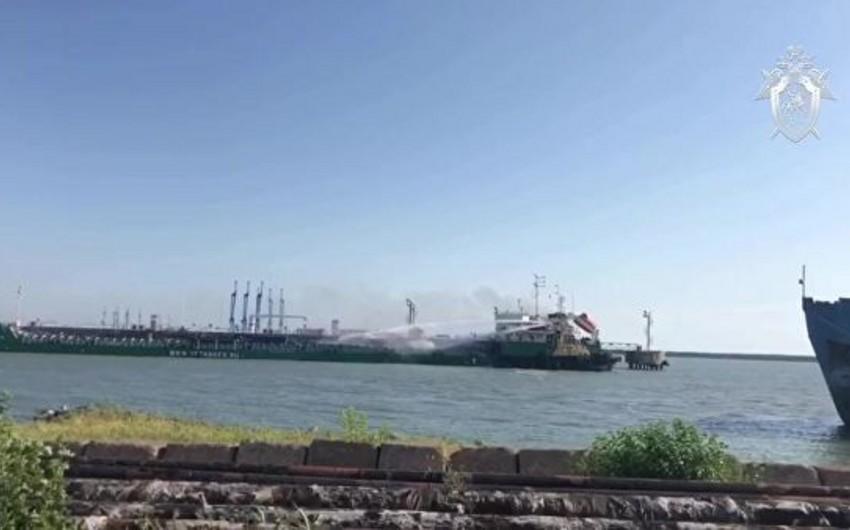Взорвавшийся в Махачкале танкер с нефтью планируют выгрузить в понедельник