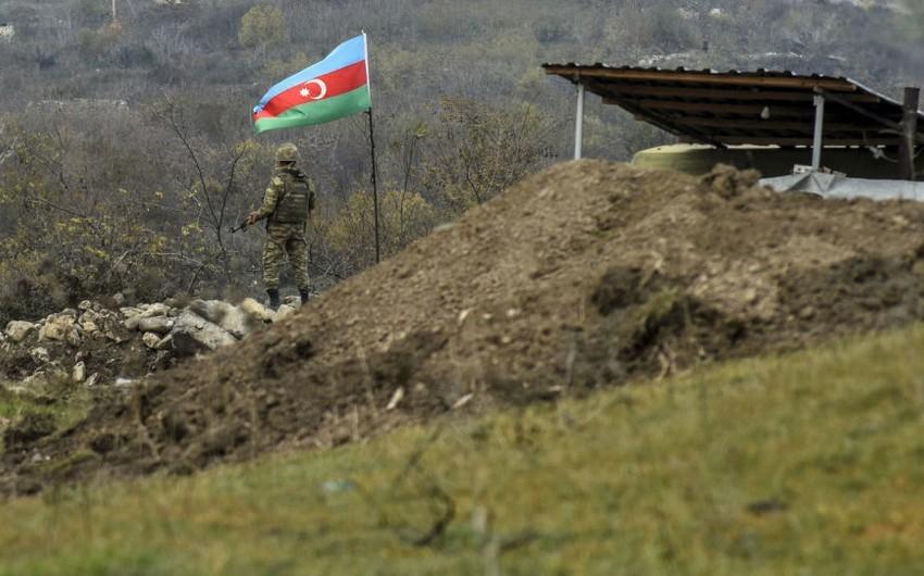Ermənistan silahlı qüvvələri tərəfindən mövqelərimiz atəşə tutulub