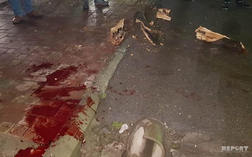 Göyçayda gənc oğlan başına ağac budağı düşməsi nəticəsində ölüb - FOTO