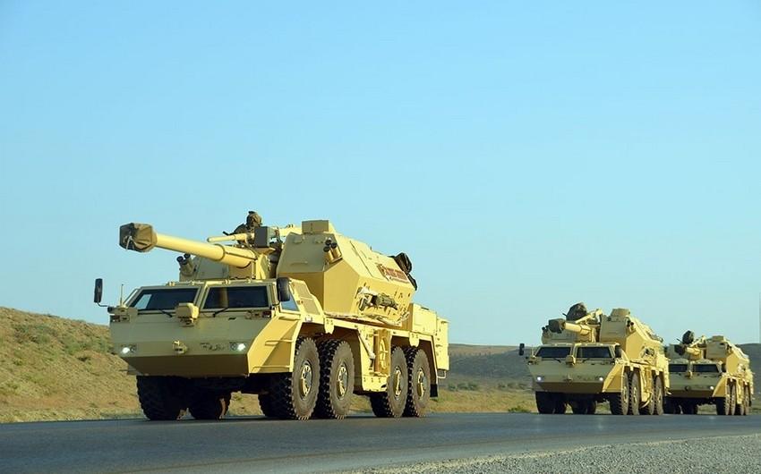 Azərbaycan Ordusunun raket-artilleriya bölmələrinin təlimləri başlayıb - VİDEO