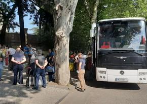 Another group of Azerbaijanis evacuated from Georgia