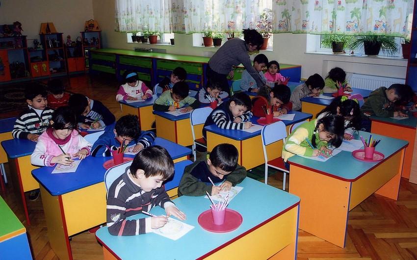 Azərbaycanda uşaqların məktəbəqədər təhsilə cəlbi 90 faizə çatdırılacaq