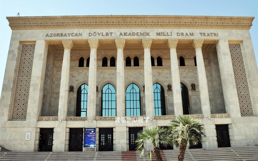 Akademik Milli Dram Teatrı 144-cü teatr mövsümünü Şəkidə açacaq