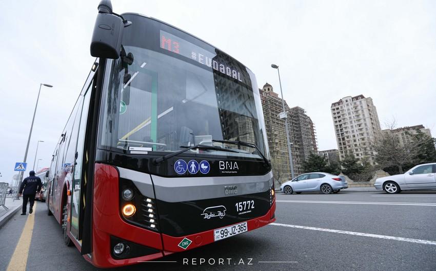 Bakıya 115 yeni avtobus gətirilir