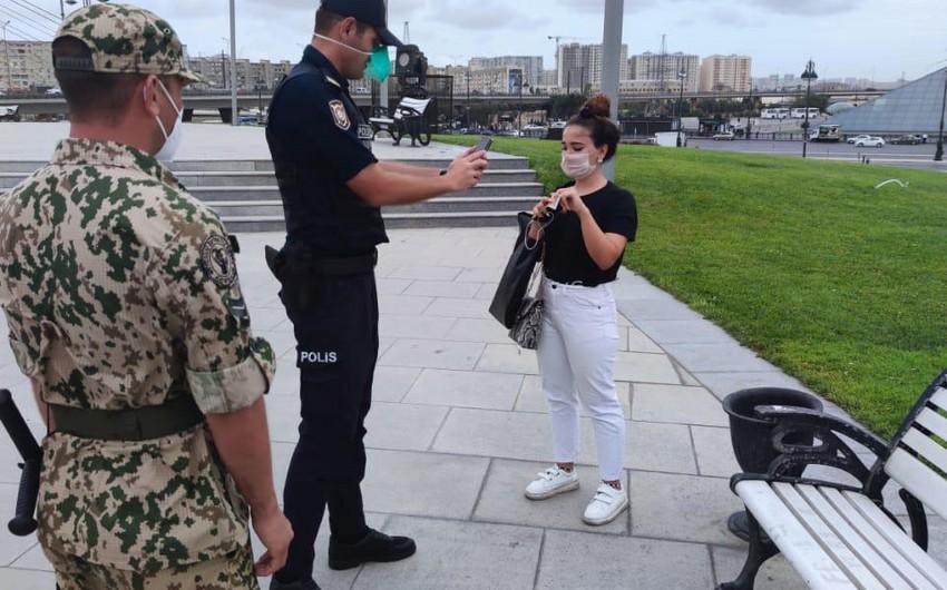 Bakı polisi: Gücləndirilmiş nəzarət tədbirləri davam etdirilir