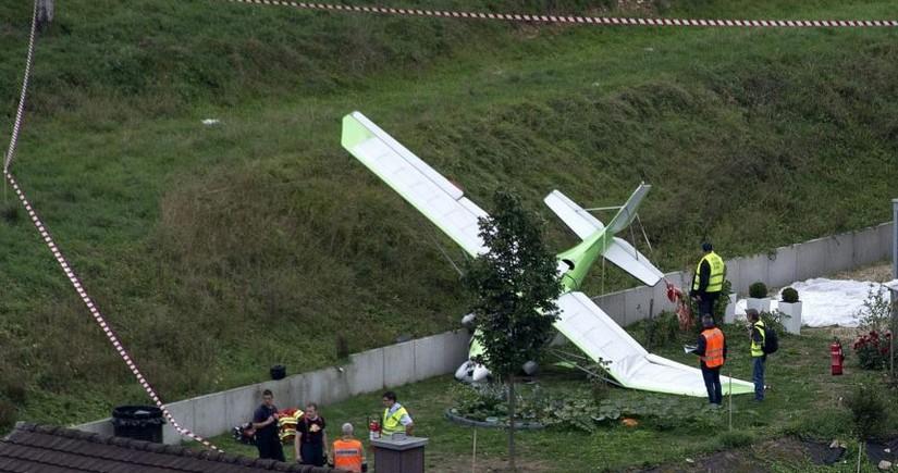 В Швейцарии разбились небольшой самолет и планер