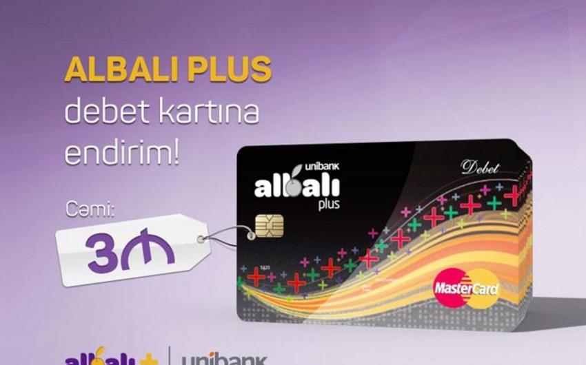 Unibankın Albalı Plus kartı ilə bağlı kampaniyası davam edir