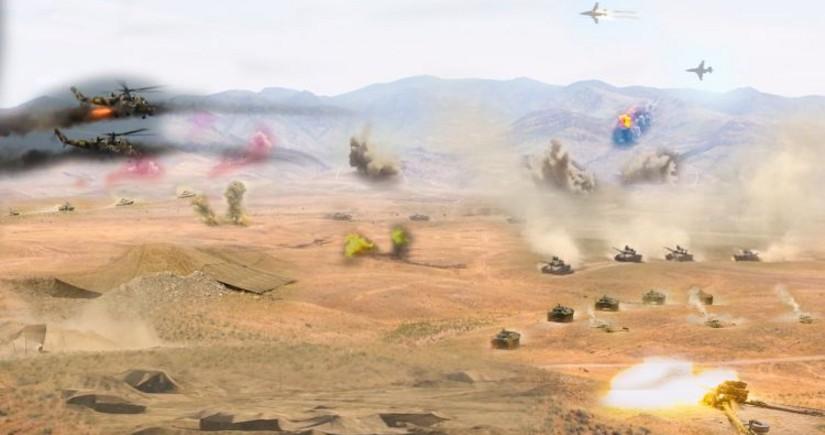 Azərbaycan Ordusu Naxçıvanda təlimlərə başlayır