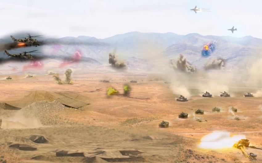 Nakhchivan garrison troops start regular Command-Staff Exercises