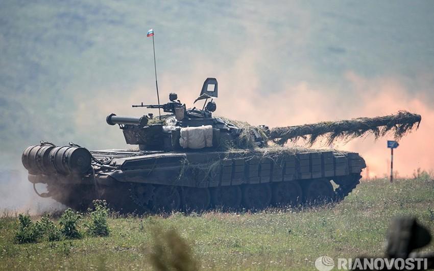 Rusiyanın Ermənistandakı hərbi bazasında döyüş hazırlığının yoxlanılmasına başlanılıb