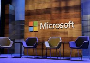 """ABŞ-da """"Microsoft"""" xidmətinin işində nasazlıq yaranıb"""