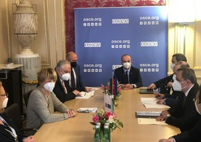 Azerbaijani FM briefs OSCE chief on post-conflict situation in South Caucasus