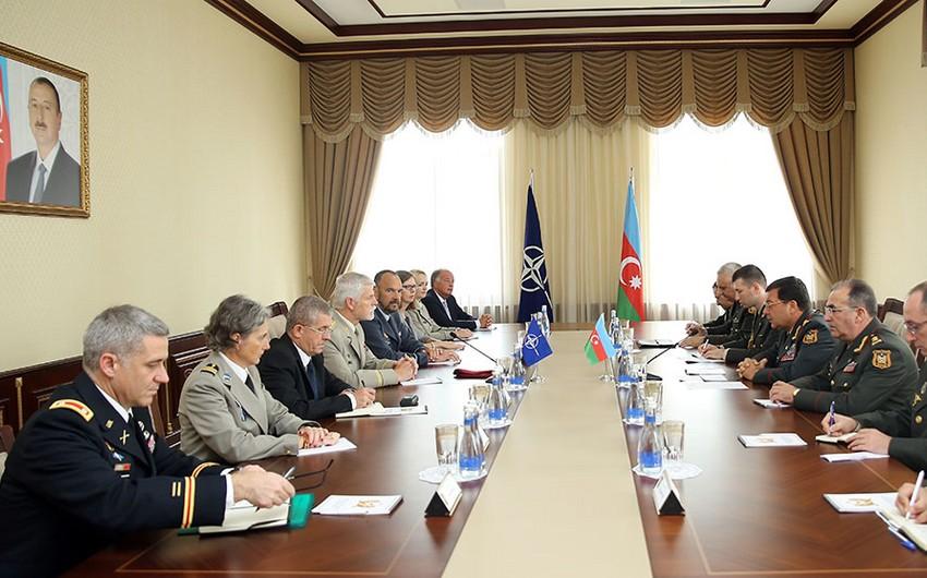 Azərbaycanla NATO arasında əməkdaşlıq məsələləri müzakirə olunub - VİDEO
