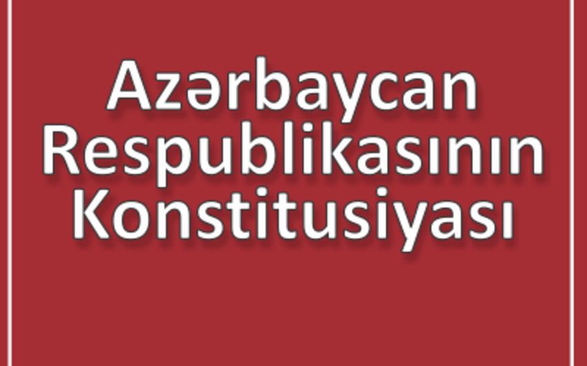 """""""Azərbaycan dövlətçilik tarixində konstitusiyanın rolu"""" mövzusunda konfrans keçirilib"""