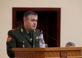 Karantində oğluna toy etdiyinə görə işdən çıxarılan erməni generala yeni vəzifə verilib