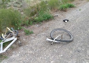 Kürdəmirdə yük maşını velosipedçinin üstündən keçərək onu öldürüb