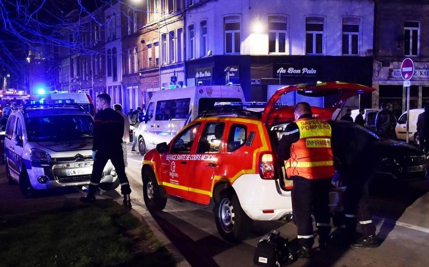 Fransanın Lill şəhərində atışma nəticəsində 3 nəfər yaralanıb